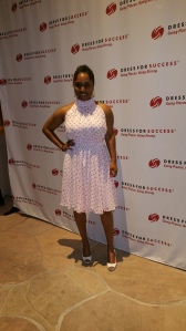 Me at the Dress for Success Worldwide Leadership conference in Scottsdale, AZ.
